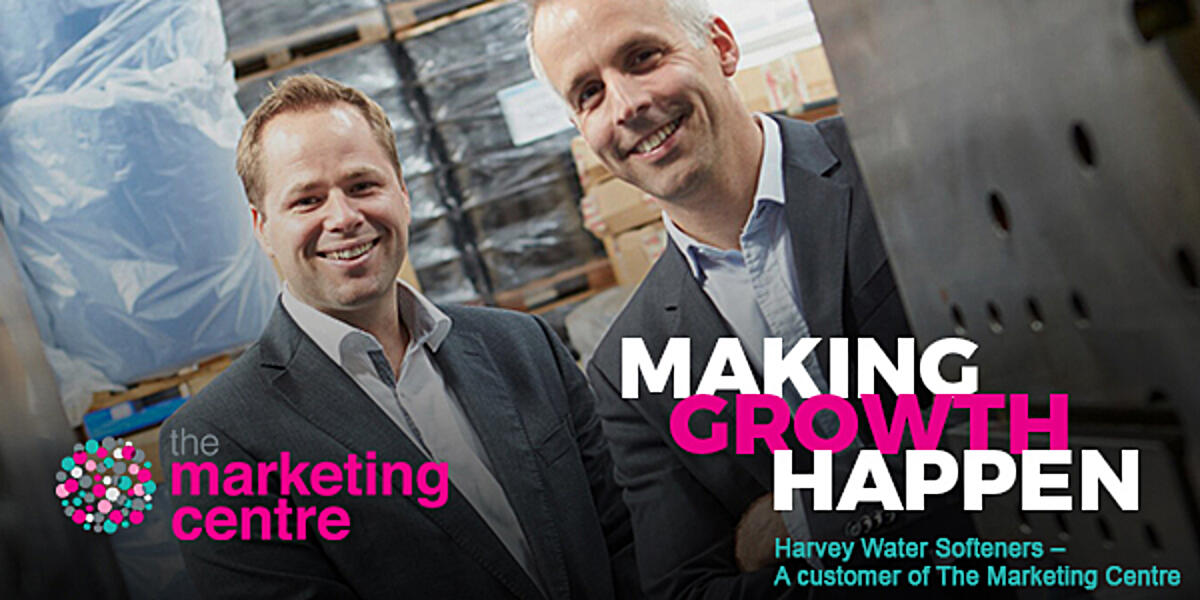 Harvey Water Softeners, a customer of The Marketing Centre